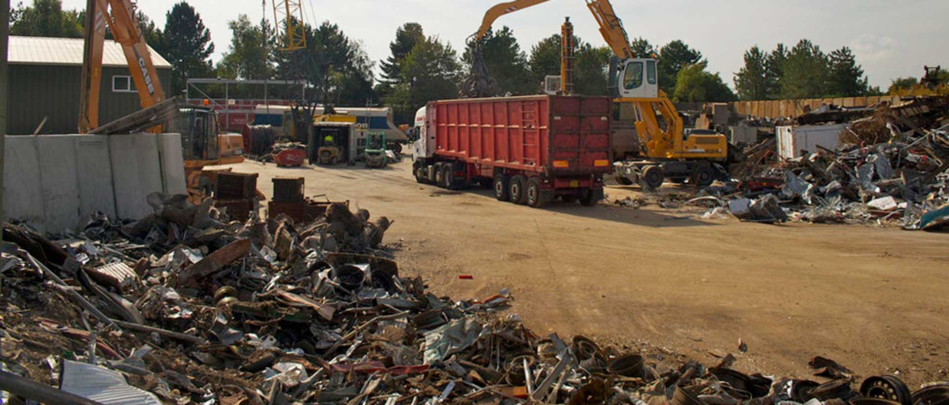 Recycling Site and Equipment